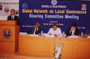 Global Network on Local Government's Steering Committe Meeting